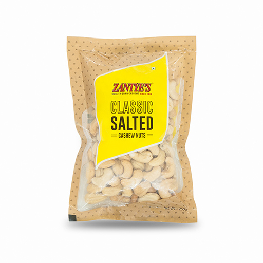Classic Salted Cashews Front