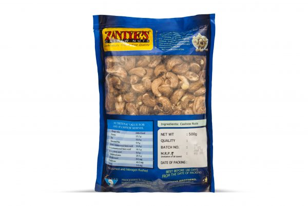 Cashews with Skin Back
