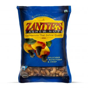Cashews with Skin Front