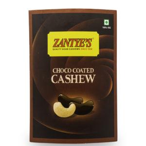 Choco Coated Cashews Front