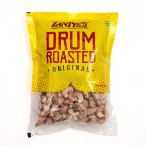 Drum Roasted Cashews Front